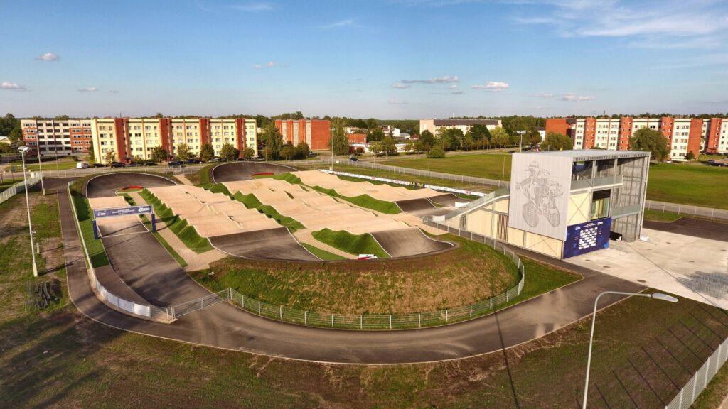 BX trase Valmierā