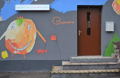 Vidzemes bērnu veselības centrs Apelsīns ieeja