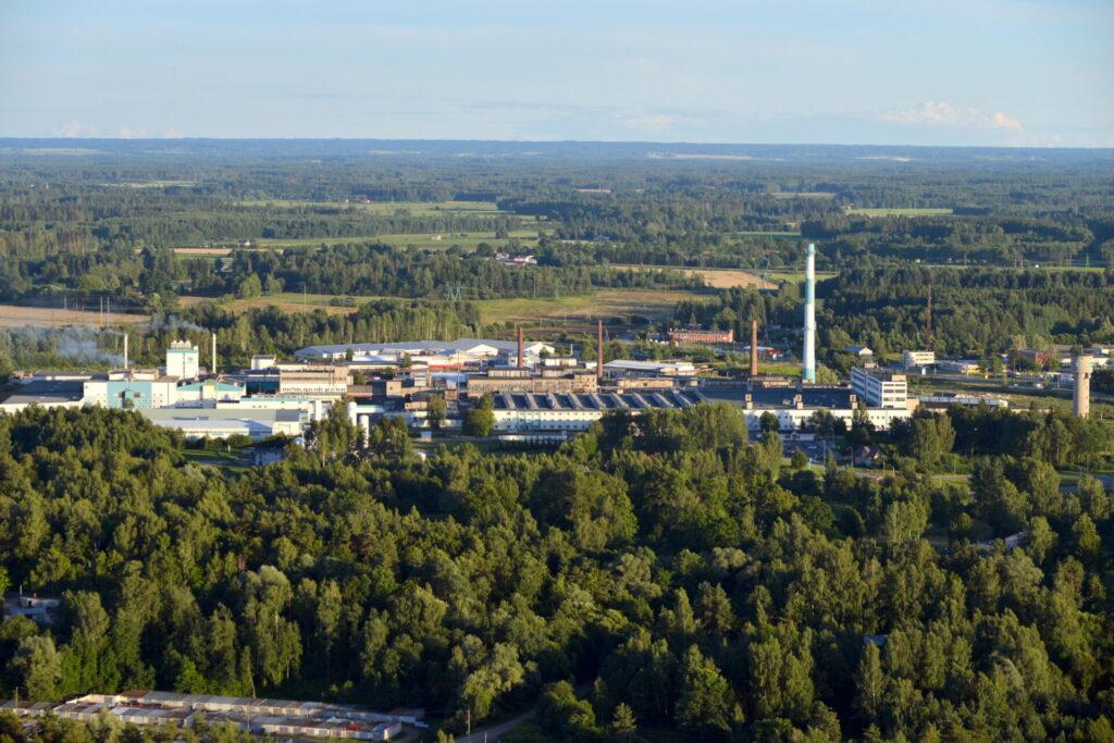 Valmiera ir industriāla un rūpnieciska pilsēta