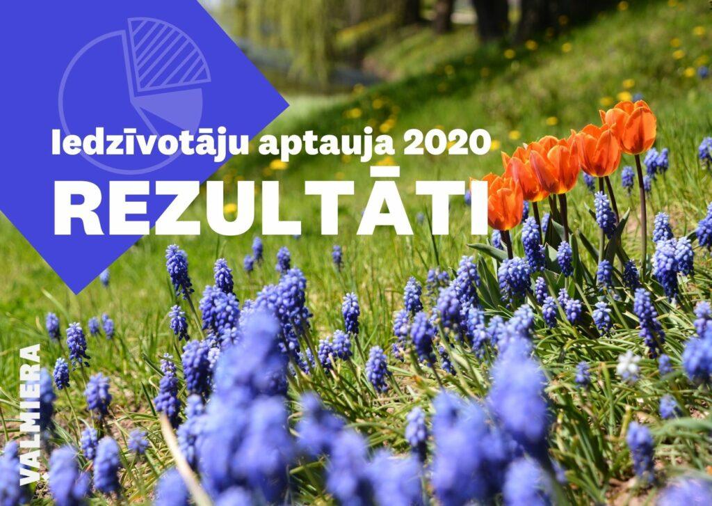 vALMIERAS IEDZĪVOTĀJU APTAUJA 2020 - REZULTĀTI